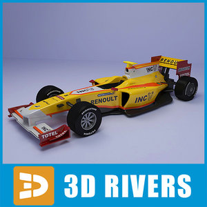 race car renault f1 max
