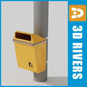street trash cans max