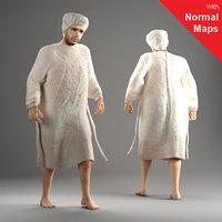 metropoly characters human 3d model