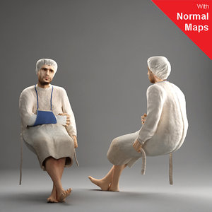 metropoly characters human 3d 3ds