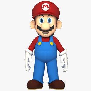 mario character rig 3D