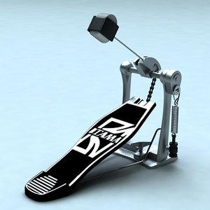 3d pedal model