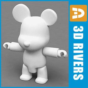 maya vinyl bear toys