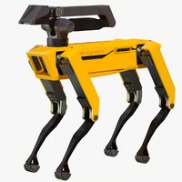 3D model spot robot boston dynamics
