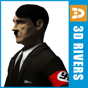 3d model of adolf hitler