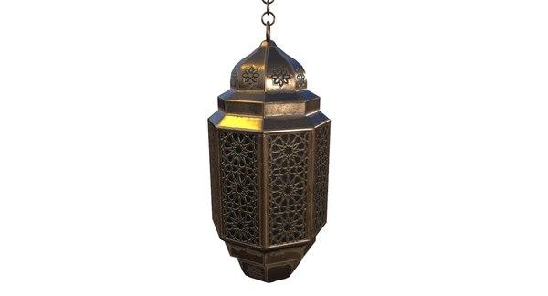 3D lantern pbr