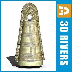 3d model dotaku bells