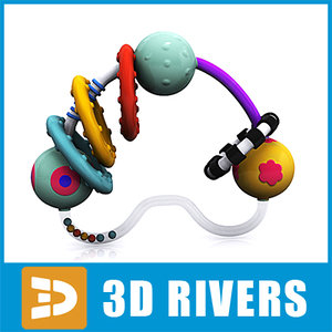 3ds max baby rattle toys