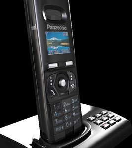 3d panasonic telephone model