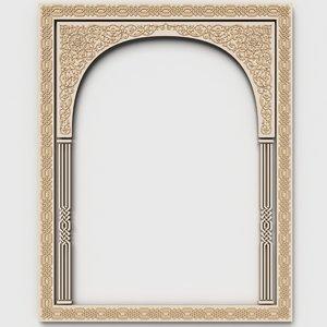 arabesque wall 3ds