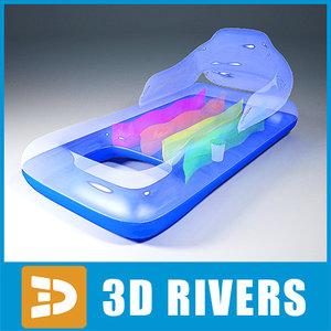 3ds max air mattress