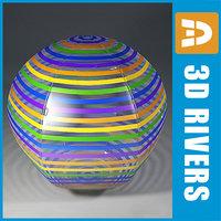 beach ball 3d max