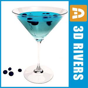 max blueberry martini