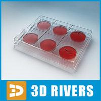 3d medical glass sampler