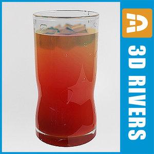 3d model hurricane cocktail bar
