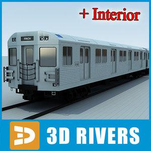 t1 train 3d model