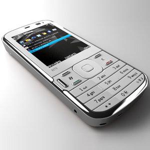nokia n79 mobile phone 3d model