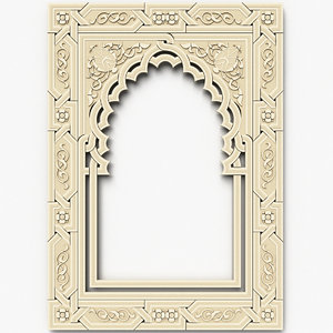 arabesque decor ceiling 3ds