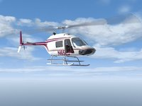 3d model news helicopter