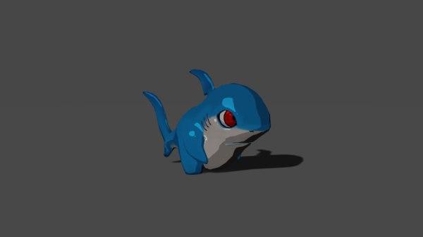 shark mobile rig 3D model