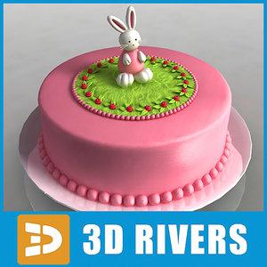 maya cake bake 3dr114