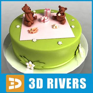 3d cake bake 3dr114