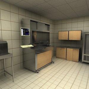 3d medical science lab