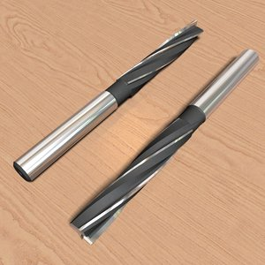3d model reamer-mill 10 4mm