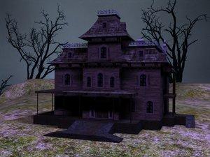 phantom haunted house 3d max