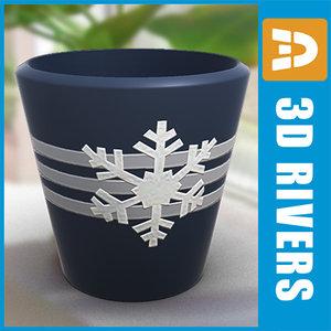 planter flowerpot 3d model