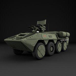 3d model apc