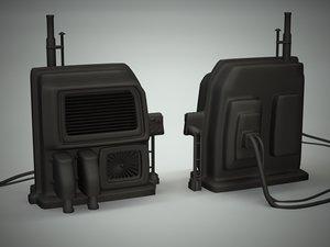 building nurb 3d model