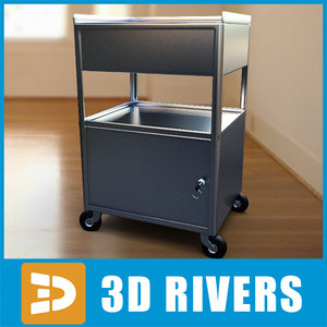 3ds max trolley spa