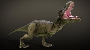 rex rigged 3D