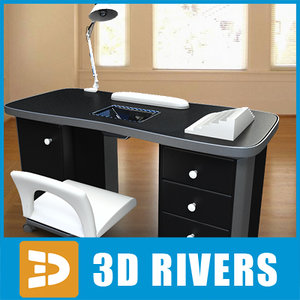 manicure table 3ds