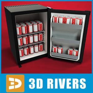 3d model beverage bar
