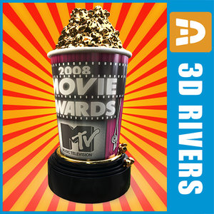 mtv movie awards 3d max