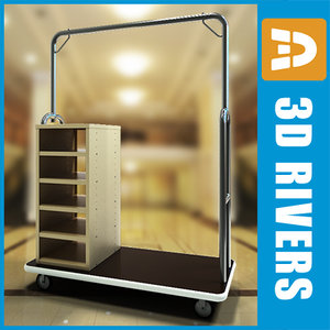 hotel baggage cart max