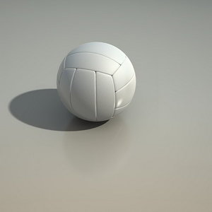 3d model volley ball