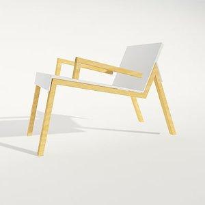 3ds modern chair