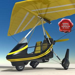 maya hang glider v2