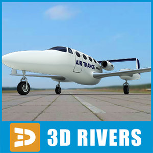 3d model adam aircraft a700