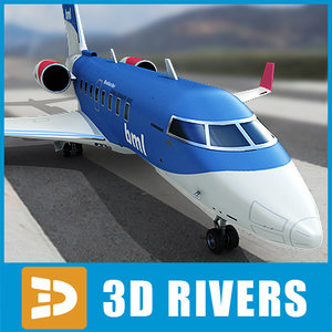 bombardier challenger 605 3ds