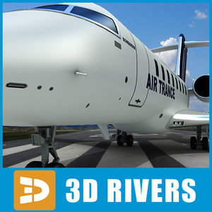 Bombardier challenger 605 05 by 3DRivers