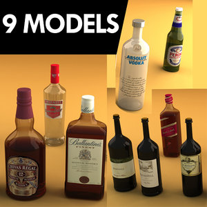 3d max 9 alcoholic