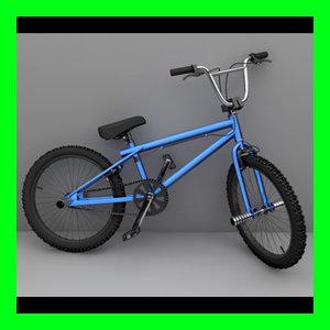 3ds max bmx bike
