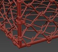 Metall gabion mesh