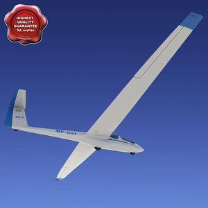 3d glider ask-21