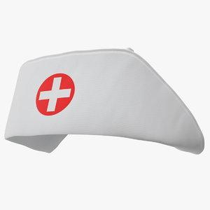 nurse cap 3D model