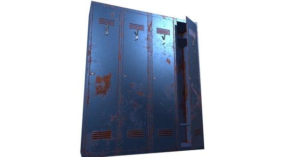 ready locker 3D model